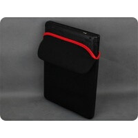 内胆包Thinkpad笔记本E470C电脑14寸外星人15.6炫龙火影机械 黑色(翻过来是红色)