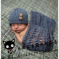 宝宝手工造型服 新款手工编织造型服装 新生儿裹布 婴儿毯子衣服