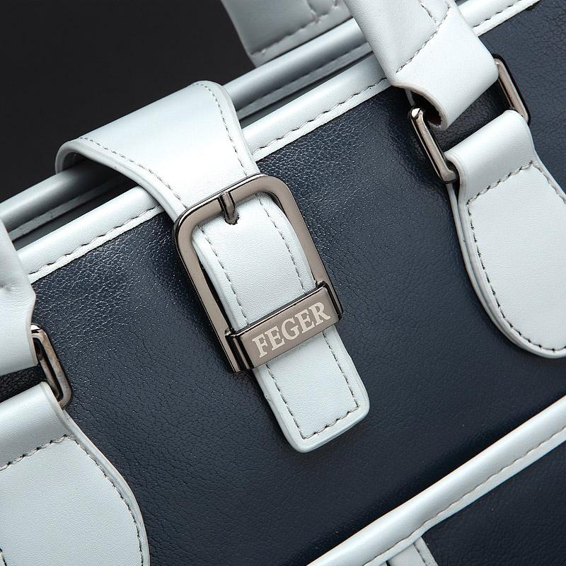 男包手提包竖款男士休闲斜挎包单肩包真皮商务公文包背包包潮