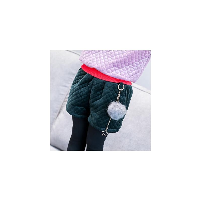 时尚短裤冬季新款女童纯色百搭金丝绒面加厚休闲舒适短裤A6-A21 发货周期:一般在付款后2-90天左右发货,具体发货时间请以与客服协商的时间为准