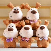 婚庆抛洒布娃娃毛绒玩具小号公仔玩偶夹娃娃机结婚礼互动 单个价格 20厘米左右 颜色随机