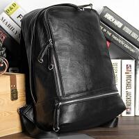 原创简约双肩包韩版潮流大学生书包女学院风英伦百搭户外旅行背包