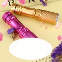 化妆品面膜测试灯荧光剂检测笔手电筒可充电紫光迷你验钞多功能 SF-114 充电电池装 枚红色