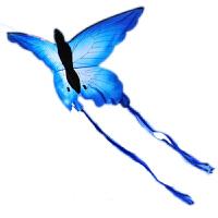 潍坊风筝 蝴蝶风筝 蓝蝴蝶风筝 设计新颖漂亮 容易飞