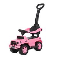 W儿童扭扭车带音乐1-3岁男女宝宝可坐玩具车婴幼儿手推滑行溜溜车O