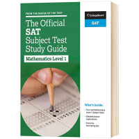 SAT考试官方指南 数学1 英文原版 The Official SAT Subject Test in Mathema