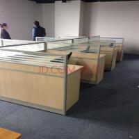 20180712154701899职员办公桌 会议桌小型条桌电脑桌多人实木台式四人工作三人家具工作台人人写字台职员