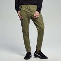 【1件3折到手价:59.7】美特斯邦威休闲裤男士冬装新款潮流都市风百搭舒适小脚裤