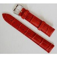 真皮表带 防汗防水 表代用表带 男款手表配件22mm