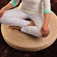 草藤编打坐拜佛垫地垫藤编日式榻榻米飘窗坐垫 蒲团加厚禅修垫