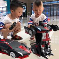 儿童玩具变形遥控车感应金刚机器人充电汽车男孩子漂移赛车小朋友