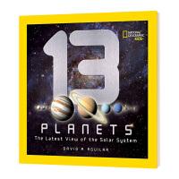 美国国家地理 13颗行星 英文原版 13 Planets The Latest View of the Solar S