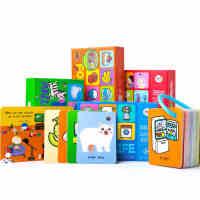 美乐英文早教卡宝宝识字卡片0-3-6岁儿童认字卡片幼儿看图识字卡