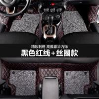 17款吉普全新国产自由侠jeep自由侠改装饰专用汽车脚垫全包围丝圈 深