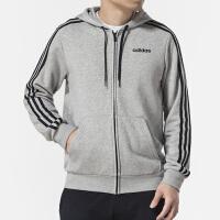 Adidas阿迪达斯 男装 运动休闲训练连帽夹克外套 DU0473