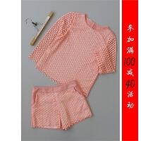 [96-208]新款时尚女装精女裤套装0.43