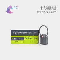 SEATOSUMMIT旅行钥匙行李箱锁拉杆箱包锁小海关密码锁TSA007挂锁