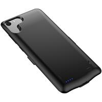 新款无下巴vivoX7背夹电池X9专用超薄充电宝x9s便携移动电源手机壳式X9plus无线冲器大容量 X7 (黑色)6