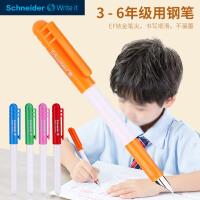 德国进口Schneider施耐德钢笔小学生专用三年级Bk401儿童初学者练字书法考试男女开学用墨囊钢笔细0.35mmE