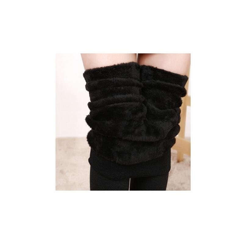 秋冬季特厚加绒加厚打底裤修身显瘦保暖裤厚棉裤520g