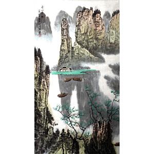 L57白雪石《奇山秀水》