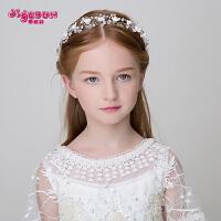 女孩配饰头箍演出发带 儿童发饰女童公主发箍可爱仿珍珠头饰