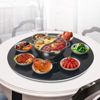 餐桌加热暖菜转盘家用饭菜保温板智能自电动旋转多功能带火锅圆形