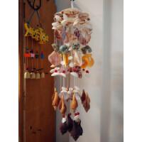 20款任意选 天然大海螺贝壳风铃创意情人节生日礼物挂饰