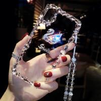 新款苹果X手机壳带挂绳iPhone7plus时尚6s网红xr钻8XS max潮女薄 iphone X/XS(5.8)