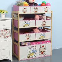 新品秒杀实木玩具架玩具收纳架储物架整理架懒角落儿童玩具柜家用玩具收纳