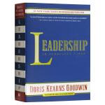 英文原版 人物传记 Leadership In Turbulent Times 动荡时期的领导力 林肯 罗斯福 约翰逊