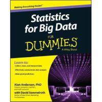 【预订】Statistics for Big Data for Dummies 9781118940013
