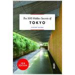 【预订】【500个隐藏秘密旅行指南】Tokyo,东京 英文原版旅游攻略