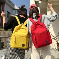 书包女韩版原宿ulzzang 高中学生背包学院风大容量街拍chic双肩包