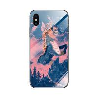 7手机壳十二生肖8定制6plus中国风iPhonexsr个性创意玻璃壳潮