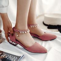 女童包头凉鞋春夏季中大童小女孩学生舞蹈鞋公主鞋