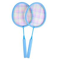 �和�羽毛球拍����球拍�p拍拍柔�玩具3-12�q小孩�敉庾舆\�油婢� �{色�p拍(8�q以上) 中�U拍