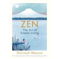 现货英文原版 禅:简单生活的艺术 精装Zen: The Art of Simple Living 100个禅的艺术生活实