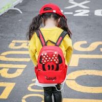 儿童书包幼儿园2小班可爱男女童宝宝迷你小孩韩版双肩背包1-3岁