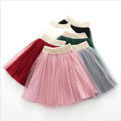 女童网纱半身裙春款新品韩版童装儿童糖果色百搭腰裙短裙 发货周期:一般在付款后2-90天左右发货,具体发货时间请以与客服协商的时间为准