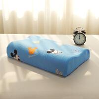 乳胶枕套60x40 儿童乳胶枕套卡通 记忆枕套0x0 全棉 夏季