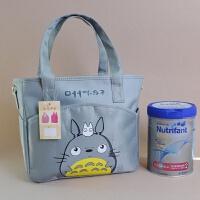 龙猫可爱妈咪包单肩斜跨包待产母婴包手提包外出旅行包袋