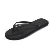 攀月星 人字拖女夏时尚拖鞋男防滑情侣平底坡跟凉拖鞋外穿沙滩鞋海边潮