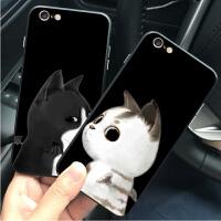 iPhone6plus手机壳苹果6s plus保护套可爱卡通猫咪情侣创意男女喵