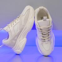 老爹鞋 女士网红透气防滑老爹鞋2020秋冬新款女式韩版轻盈减震小白运动鞋