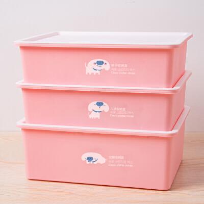 家用有盖文胸袜子内裤储物箱抽屉式塑料整理盒子内衣收纳盒衣柜 一般在付款后3-90天左右发货,具体发货时间请以与客服协商的时间为准
