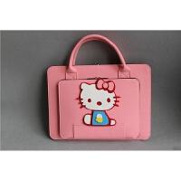 苹果戴尔手提笔记本电脑包14/15.6/13寸华硕三星通用单肩line包女 浅粉kitte猫 10寸