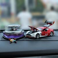 古宾 阿斯顿马丁GT3汽车摆件车内香水装饰品车载摆件合金车模模型摆件