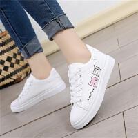 女童冬季保暖加绒大棉鞋女鞋小白鞋韩版中学生平底球鞋防滑女鞋