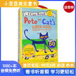 英文绘本 原版进口Pete the Cat's Super Cool Reading Collection